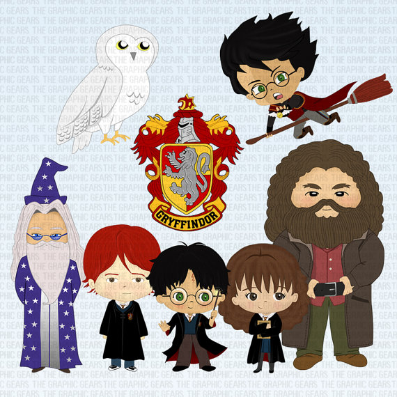 harry potter characters clipart 1